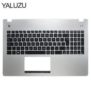 Image 1 - New new laptop keyboard bezel for ASUS X501U N56 N56V N56VM N56VZ N56SL Silver Topcase Palmrest upper case C shell backlight