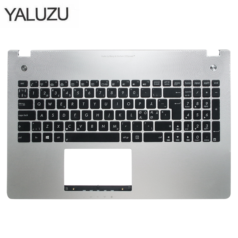 Bezel Keyboard Palmrest Laptop Topcase N56VM ASUS C-Shell for X501u/N56/N56v/.. New title=