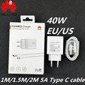 Huawei P40 Pro Schnelle Ladegerät Original 10V /4A Wand power Aufzurüsten Adapter Usb 5A Typ C Kabel für p30 P40 Pro + Mate 20 30 Pro