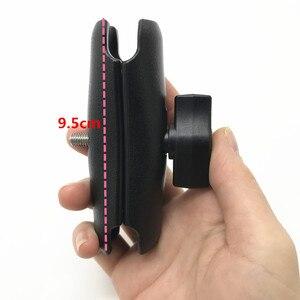 Image 4 - Auto Fenster Twist Lock Saugnapf Halterung + Ball Kopf Buchse Arm + Universal X Grip Handy Halter für smartphone