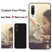DIY Custom Design Phone Case for samsung galaxy a50 a70 a30 xiaomi mi 9 9t redmi note 7 Soft silicone Cover own photo picture