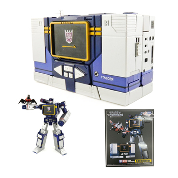 TAKARA TOMY Transformers MP13 Car Metal Part 28CM SOUNDWAVE Autobots Action Figure Deformation Robot Children Gift Toys the autobots deformation toys king kong police series red alert toy ambulance to toys for children