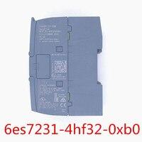 Original S7 1200 Analog input SM 1231 Module 6ES7231 4HF32 0XB0 6es7231 4hf32 0xb0 1200 module 12 bit+sign (13 bit ADC)