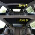 Zentrum side trim streifen für Tesla modell 3 zubehör/auto zubehör modell 3 tesla drei tesla modell 3 carbon /zubehör-in Kfz Innenraum Aufkleber aus Kraftfahrzeuge und Motorräder bei