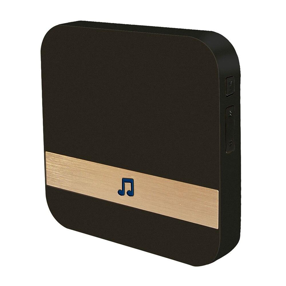 Купить с кэшбэком Music Receiver  433MHz Wireless Wifi Smart Video Doorbell Chime Home Security Indoor Intercom Door Bell Receiver 10-110dB