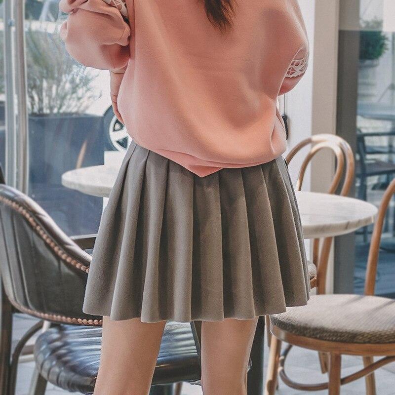 F6170 Pleated Skirt Midi-skirt Autumn And Winter Women's 2018 New Style Korean-style Versatile Business Attire Winter Skirt WOME