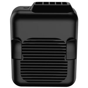 Image 2 - Поясной вентилятор, портативный Handsfree USB вентилятор, мини носимый клип на вентилятор, сильный ветер, 3600MAH аккумуляторная батарея для кемпинга, рыбалки, Cyc