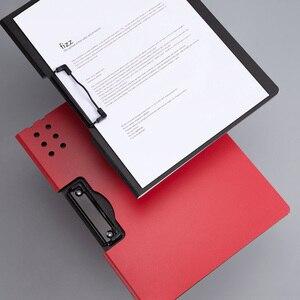 Image 4 - Yeni Youpin Fizz yatay A4 klasörü mat doku taşınabilir ped taşınabilir kalem tepsisi kalınlaşmak evrak çantası okul ofis malzemeleri
