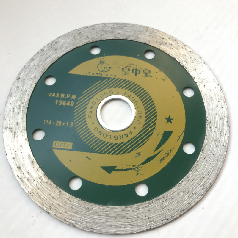Free Shipping Of 1pc 114/115mm*20*1.8*10mm Diamond Wet Saw Blade For Home Decoration Tile Concrete General Purpose Cutting