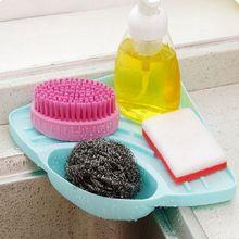 Треугольная стойка для раковины Держатель мыла кухонные стеллажи