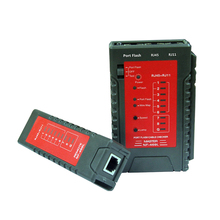 NF-469L Ethernet Cable Tester Port Flashing RJ45 RJ11 LAN Cable Tester Network Test Tools check for network cable