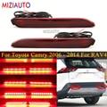1 пара светодиодный задний бампер отражатель светильник для Toyota Camry 2006 - 2014 для Toyota RAV4 2019 2020 Хвост стоп-сигнал лампы сигнала поворота