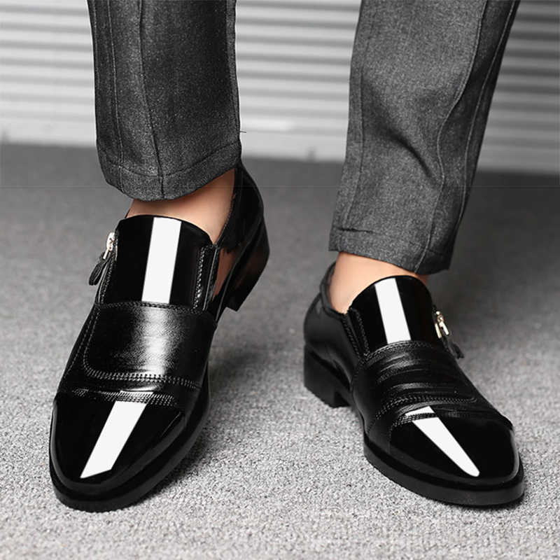 Mens Shoes Pointed Microfiber Shoes MenMens Business Shoes Mens Shoes Classic Fashion
