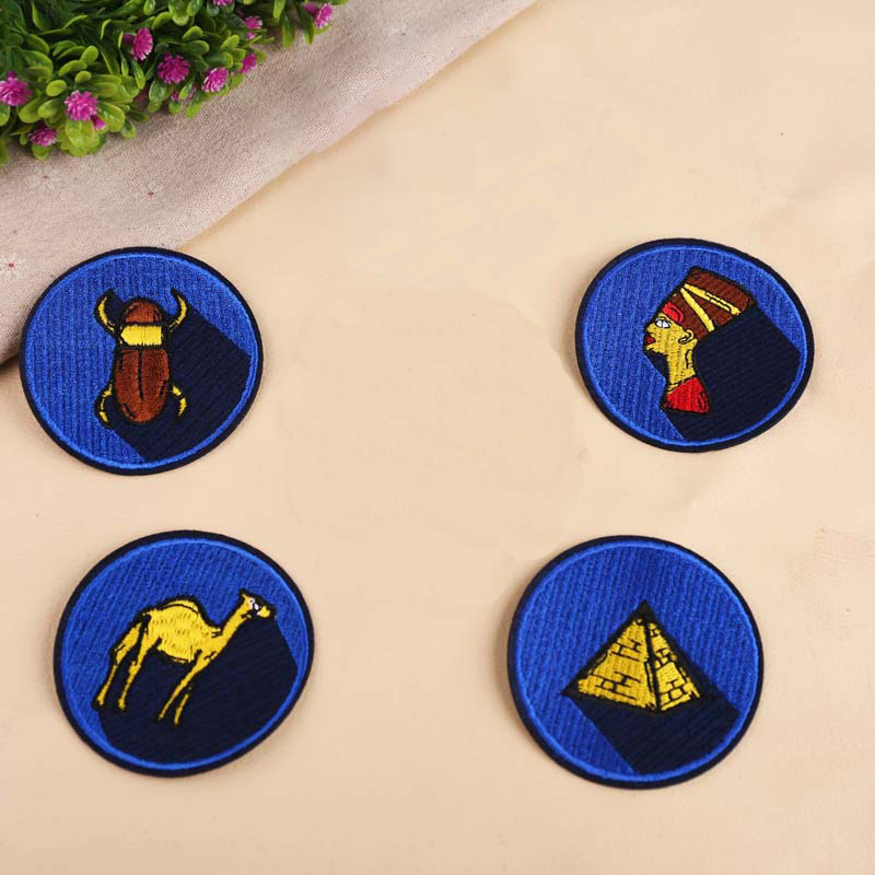 Cartoon Embroidered Iron on Patches Clothes Badge Applique DIY Embroidery Patch