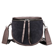 women crossbody bags fashion female 2020 autumn and winter new shoulder bag port wind retro matte saddle  tide