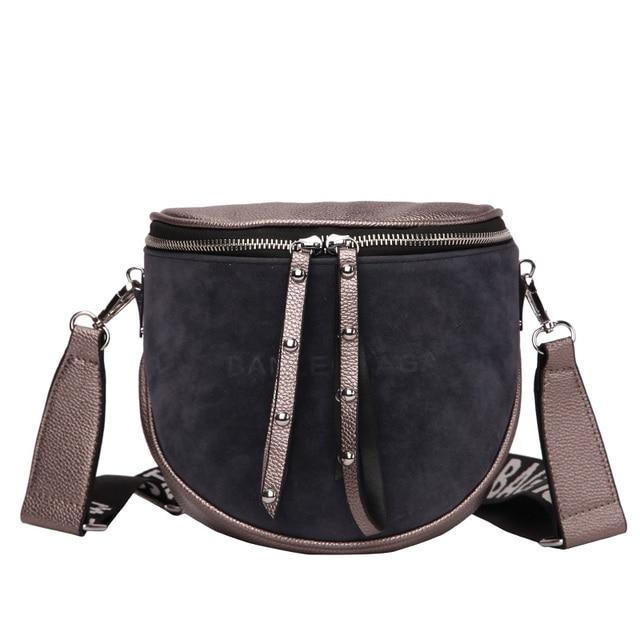 women crossbody bags fashion female 2020 autumn and winter new shoulder bag port wind retro matte saddle  tide