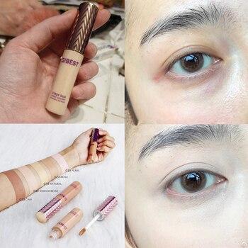 Maquillaje facial Corrector de líquido cubierta parte Corrector de ojos ojeras Contorno...