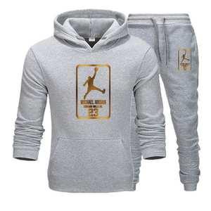 Men Hoodies Suit Pullover Sweatshirt Sporting-Suit Jogging Male Jordan 23 New Homme Fleece