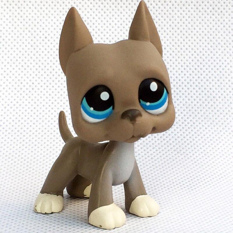 Лпс стоячки кошки игрушки Lps кошка редкие животные pet shop игрушки подставки Собака Такса колли кокер спаниель great dane Хаски старый Рисунок Коллекция - Цвет: 184