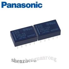 5PCS TQ2-3V TQ2-5V TQ2-12V TQ2-24V Original Panasonic Signal Relay Two Opening And Two Closing 1A10 Foot