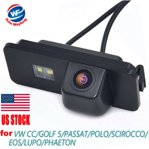 Car Rear View Reverse Backup CAMERA For VW GOLF V GOLF 5 SCIROCCO EOS LUPO PASSAT CC POLO(2 cage) PHAETON BEETLE SEAT VARIANT(China)