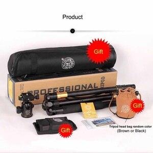 Image 5 - QZSD – trépied professionnel Q999, monopode Portable, tête sphérique détachable, alliage de magnésium et daluminium, photographie pour appareil photo DSLR