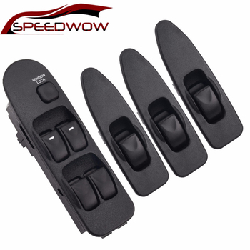 SPEEDWOW Electric Power Master Window Switch Button Front Left Right Switch Lifter For Mitsubishi Carisma 1995-2006 MR 740 599 4pcs for changan cs35 glass elevator switch electric vehicle window switch left front right front left rear right rear