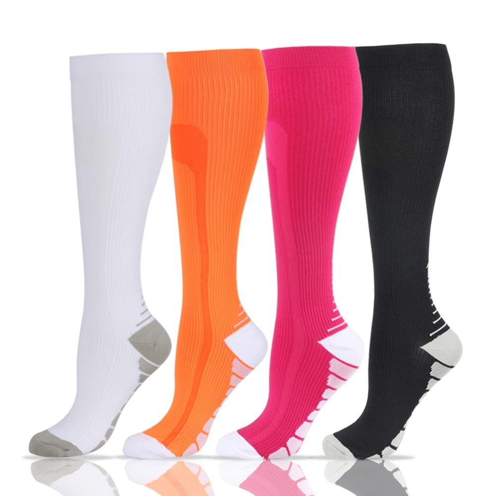 High Elastic Unisex Compression Stockings Professional Leg Protection Long Stockings For Men&Women Breathable Quick-Dry Socks