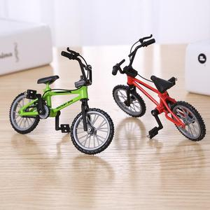 Mountain Bikes Diecast Nickel Alloy Simulation Stents Finger Bicycle Toys Model Kid Simulation Collection Home Decor