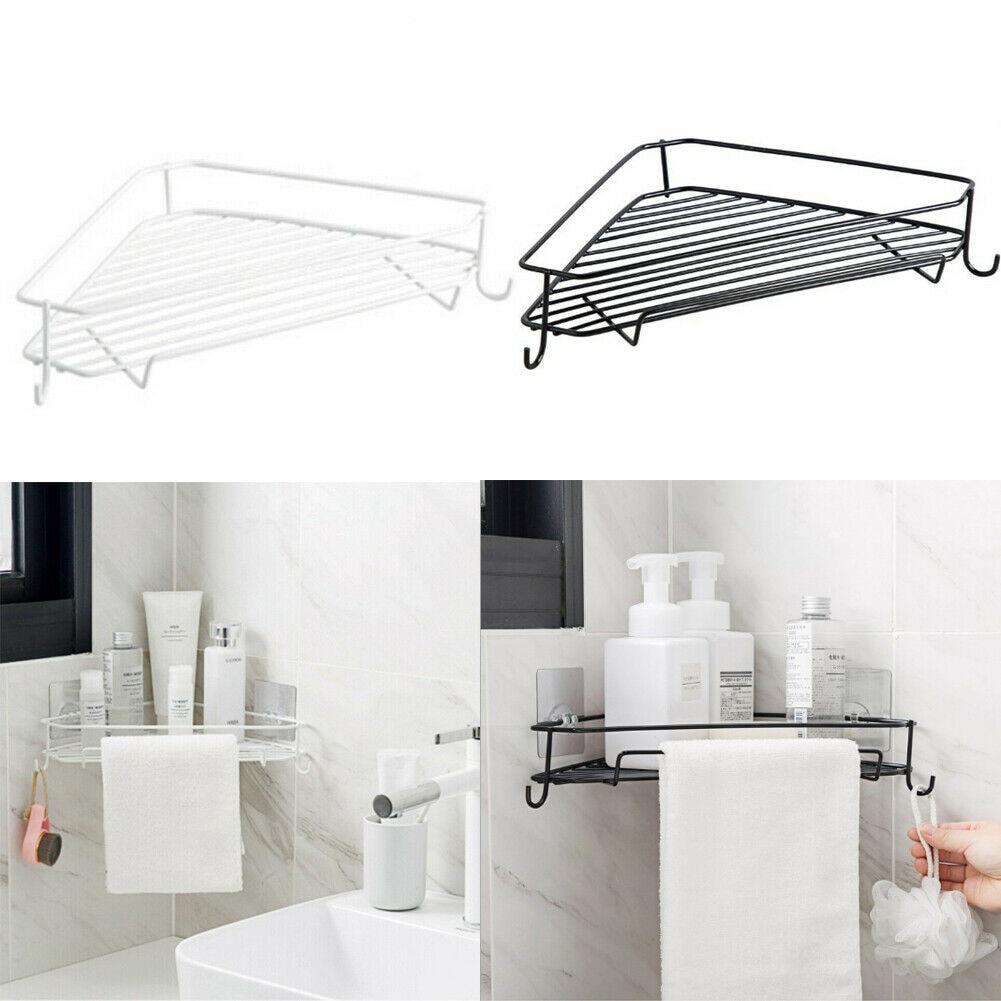 2x Bathroom Accessories Storage Shelf Rack Home Office Organizer Rack Shelf