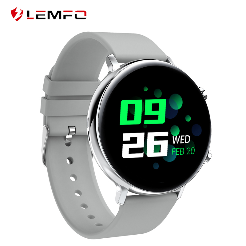 LEMFO ECG PPG Smartwatch Bluetooth Call Heart Rate monitor Fitness Tracker IP68 Waterproof Men Women Smart Watch VS SG2 SG3