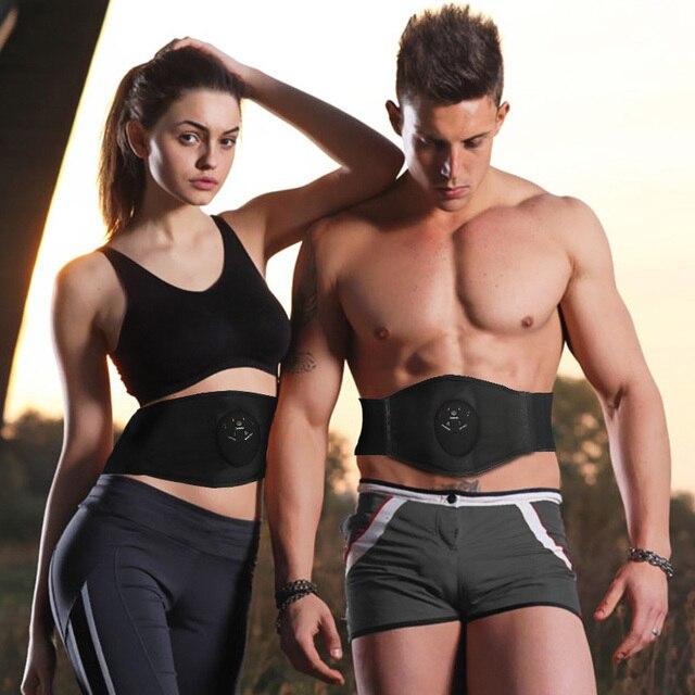 Intelligent Women Body Shapers Unisex Waist Massage Weight Loss Machine Cincher Tummy Slimming Belt Waist Trimmer Trainer
