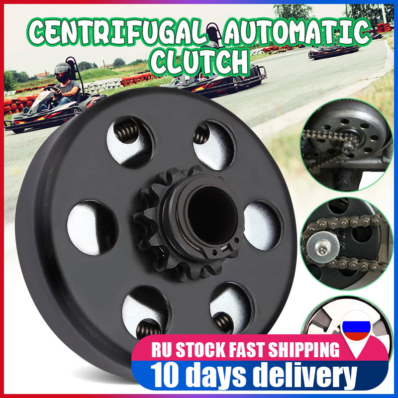 19mm 10 Tooth 420 Chain Engine Clutch For GO Kart Minibike Fun Centrifugal Automatic Clutch