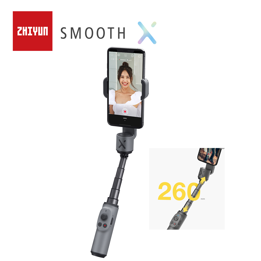 ZHIYUN Official SMOOTH X Phone Gimbals Selfie Stick Handheld Stabilizer Palo Smartphones For IPhone Huawei Xiaomi Redmi Samsung