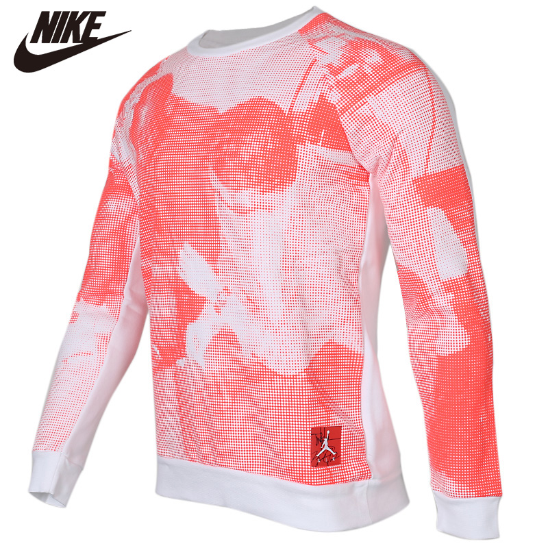 Original <font><b>NIKE</b></font> White And Red 100% cotton Soft <font><b>Tshirts</b></font> Comfortabe Clothing Limited Sale image
