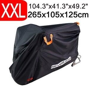 Image 1 - 265x105x125 XXL 210D 방수 프로텍터 오토바이 커버 유니버설 스쿠터 모터 자전거 먼지 야외 커버 코트