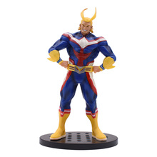20 cm Action Figure My Hero Academia All Might Figure PVC Collection Model Toys All Might Amazing Heros Toys Dolls Figures Gift action figures toys kunkka lina pudge queen tidehunter cm fv pvc action figures collection dota2 toys