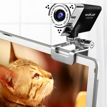 HD1080P Drive-free Noise Reduction Computer Camera with Built-in Microphone Webcam VDX99