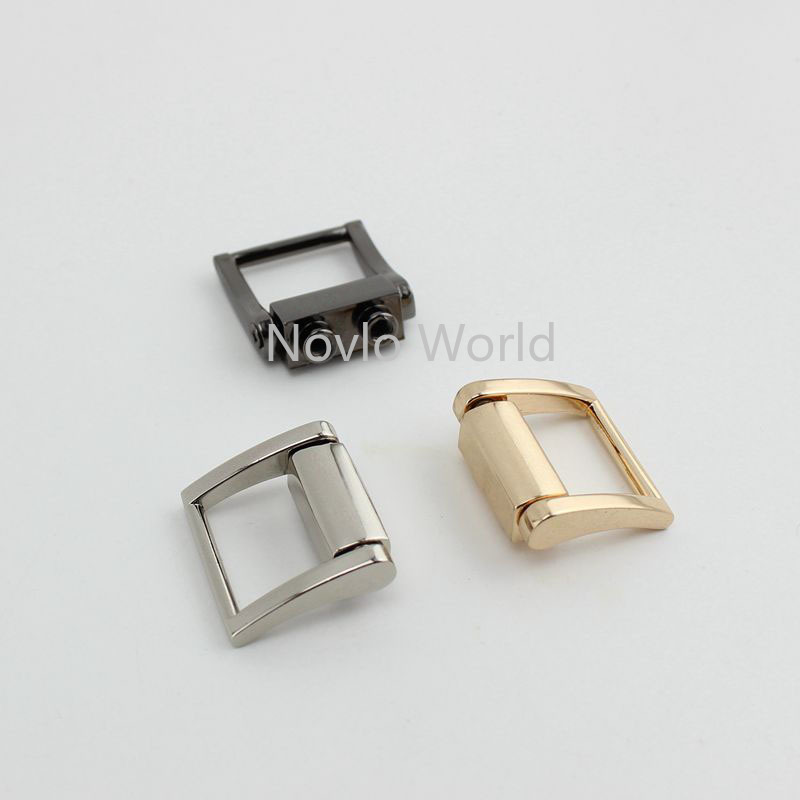 Wholesale 500pcs, 3 Colors Accept Mix Color, Metal Hanger Connects Square Buckle With Screws Bag Handle Diy Hardware Accessories