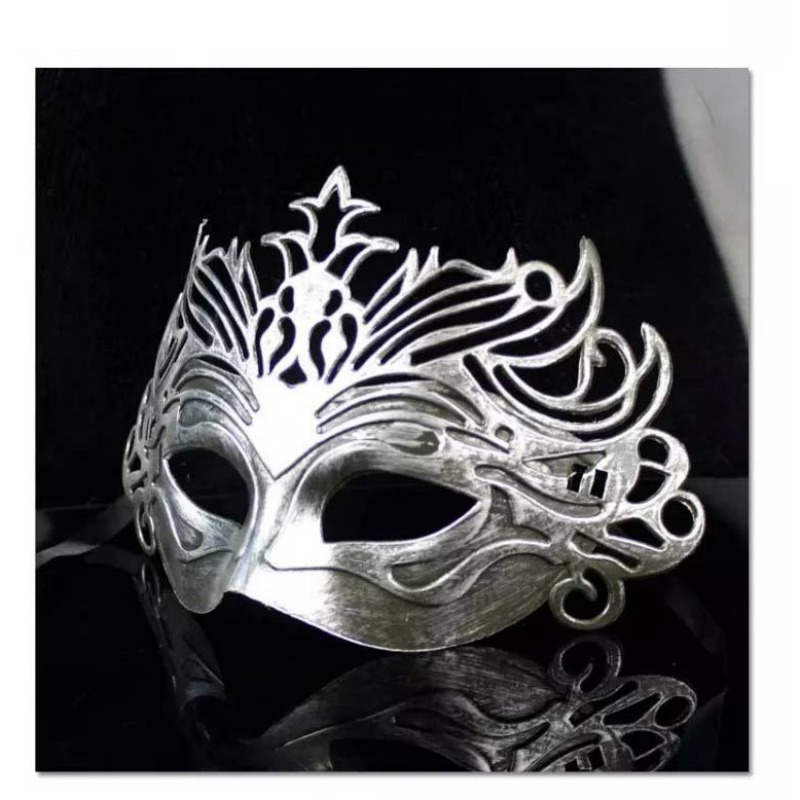 Vintage fête masque vénitien mascarade demi visage masques Halloween carnaval Cosplay Costume - 5