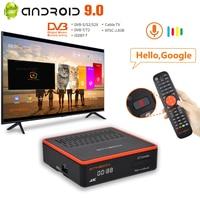 4:2:2 Video TV decoder GT MEDIA GTCOMBO 4K/8K HD DVB-S2X + DVB-T2 Combo digital TV Internet antobiss, CCam,M3U,H.265 10 bit TV box