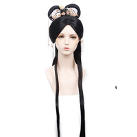 shaped black Chang'e fairy dance fairy princess hair products for women Chinese traditional costumes accessories