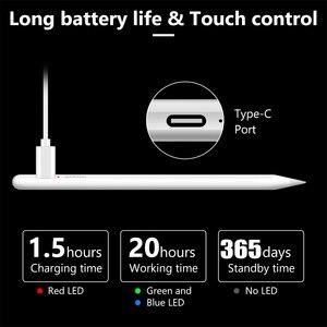 Image 3 - Dla iPad ołówek rysik dla Apple ołówek 1 2 pióro dotykowe dla tabletu IOS Android rysik dla iPad Xiaomi Huawei uniwersalny