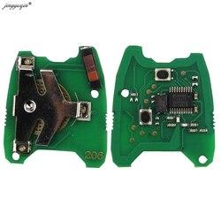 Jingyuqin kluczyk samochodowy z pilotem tablica elektroniczna płyta dla PEUGEOT 106 206 207 306 Partner|Kluczyki samochodowe|   -