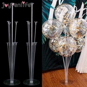 1 комплект 14 трубок держатель для шарика подставка для воздушных шаров Колонка воздушный шар