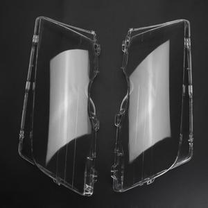 Image 5 - VODOOL 4 Tür Automobil Auto Scheinwerfer Glas Abdeckung Klar Links Rechts Scheinwerfer Kopf Licht Objektiv Deckt Styling Für BMW E46 98 01