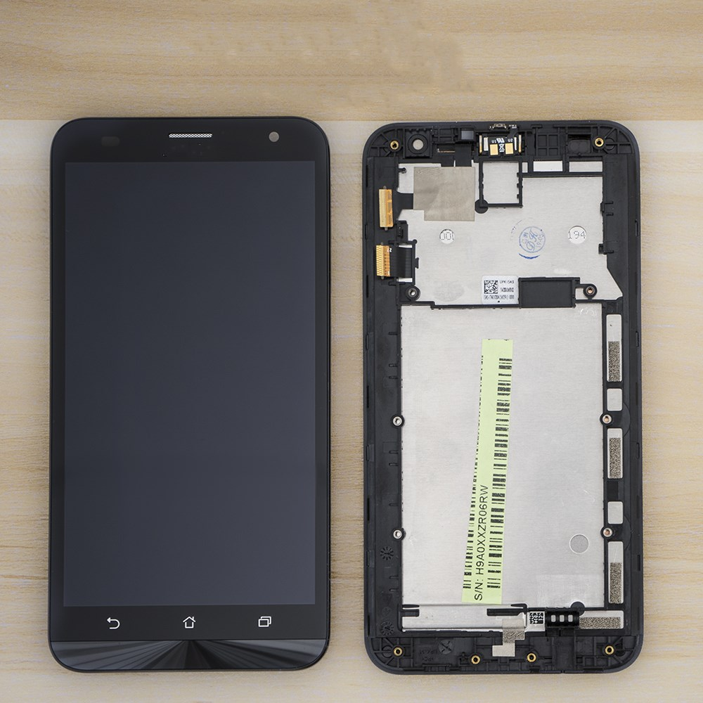 Original 5.5'' <font><b>LCD</b></font> For ASUS Zenfone 2 Laser <font><b>ZE550KL</b></font> <font><b>LCD</b></font> Display Touch Screen Assembly Digitizer Frame For ASUS <font><b>ZE550KL</b></font> <font><b>LCD</b></font> image