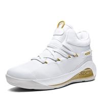 New Man High top Jordan Basketball Shoes Cushioning Light Basketball Sneakers Anti skid Breathable Outdoor Sports Jordan Shoes