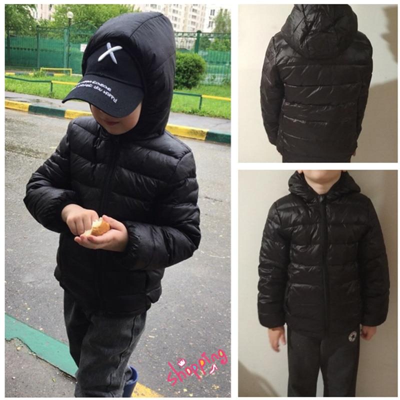 Down-Jackets Parkas Toddler-Girls Boys Winter Kids Children Autumn for Warm Outerwear