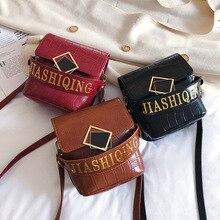 цена на Shoulder Leather Crossbody Bags For Women Bag Vintage Alligator Pu Leather Bucket Handbag Women Luxury Handbags